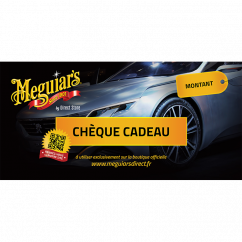Meguiars Chèque cadeau 50,75 ou 100€ Préparation & Rénovation