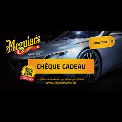Meguiars Chèque cadeau 50,75 ou 100€ Gamme MIRROR BRIGHT