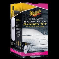 Meguiars Kit Canon à Mousse Ultimate Snow Foam  Lavage