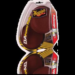 Meguiars Pack de tampons de polissage pour système double action Accessoires