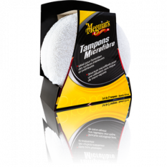 Meguiars Tampon Applicateur Microfibre x2 Entretien Int. & Ext.