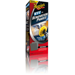 Meguiars Kit Rénovation Phares Kits, Packs & Promos