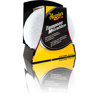 Meguiars Tampon Applicateur Microfibre x2 Intérieur