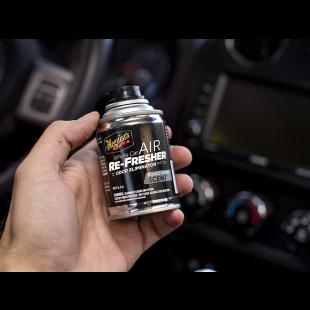 Meguiar's Direct : Eliminateur d'odeur senteur black chrome Flacon
