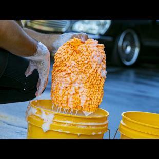 Gant hybride céramique dans seau