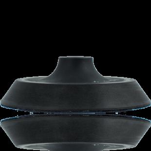Plateau Souple Lustreuse Rotative 14mm - 6.10 pouces vue de profil